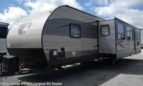 2017 Forest River Cherokee  304BH 2-BdRM Triple Slide Outside Kitchen