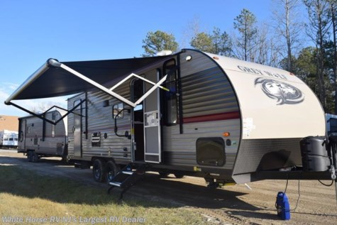 2018 Forest River Grey Wolf  23DBH U-Lounge Slide Double Bed Bunks