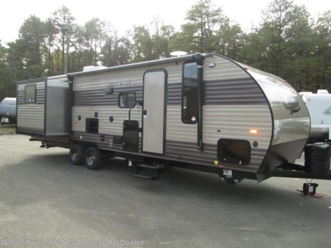 2017 Forest River Cherokee Grey Wolf  27DBS Double Slide Bunk House