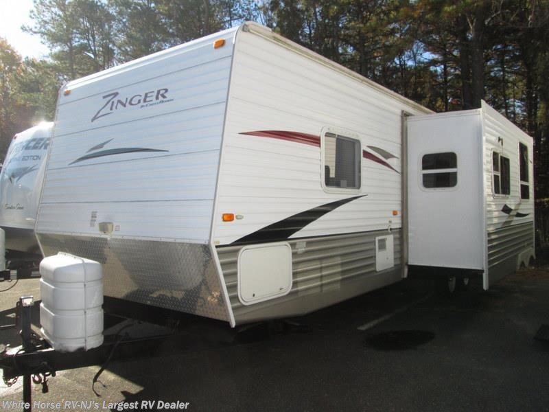 2009 Crossroads Rv Zinger 32qb 2 Bdrm Slide Queen Bed Rear Bunks Dinette For Sale In Egg Harbor
