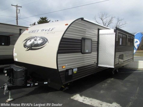 2017 Forest River Cherokee Grey Wolf  26DBH 2-BdRM Slide Double Bed Bunks