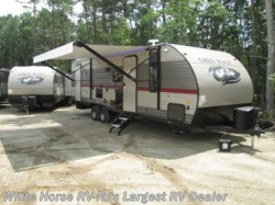 2018 Forest River Grey Wolf 26DBH 2-BdRM Slide Double Bed Bunks