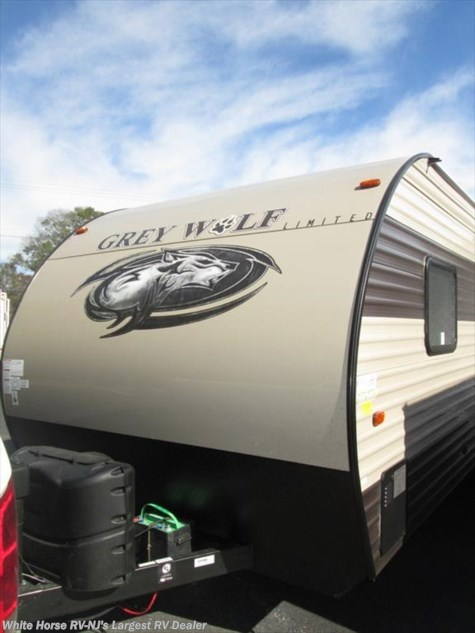2017 Forest River Cherokee Grey Wolf  23DBH U-Lounge Slide Double Bed Bunks