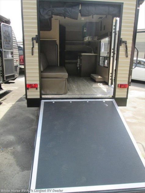 2018 Forest River Cherokee Wolf Pup  17RP Front Double & Single Beds Rear Ramp Garage
