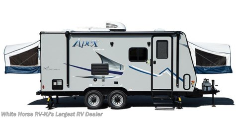 2017 Coachmen Apex Nano  15X with Front & Rear Queen Bed Ends