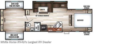 2018 Forest River Cherokee  304BS 2-BdRM Triple Slide