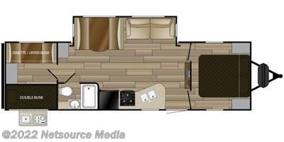 2016 Cruiser RV MPG MPG 2800QB floorplan image