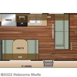 2018 Starcraft Autumn Ridge Outfitter 26BH floorplan image