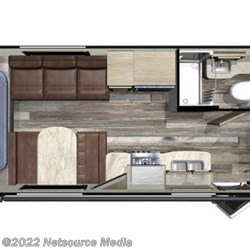 2019 Starcraft Launch Outfitter 20BHS floorplan image