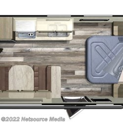 2019 Starcraft Autumn Ridge Outfitter 182RB floorplan image