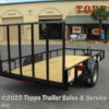 Topps Trailer Sales & Service Inc 2018 6X12 ANGLE TOP 4' RAMP GATE  Utility Trailer by Stagecoach | Bossier City, Louisiana