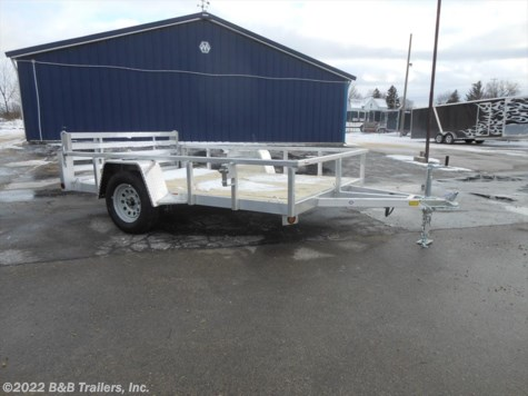 New 2018 Quality Steel & Aluminum 8010ALDX For Sale by B&B Trailers, Inc. available in Hartford, Wisconsin