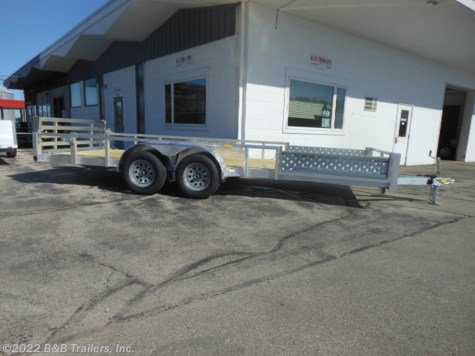 New 2020 Quality Aluminum 8018ALDX For Sale by B&B Trailers, Inc. available in Hartford, Wisconsin