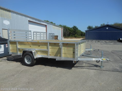 New 2019 Quality Steel & Aluminum 7412ALSL For Sale by B&B Trailers, Inc. available in Hartford, Wisconsin