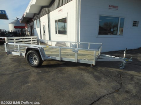 New 2020 Quality Aluminum 8012ALDX For Sale by B&B Trailers, Inc. available in Hartford, Wisconsin