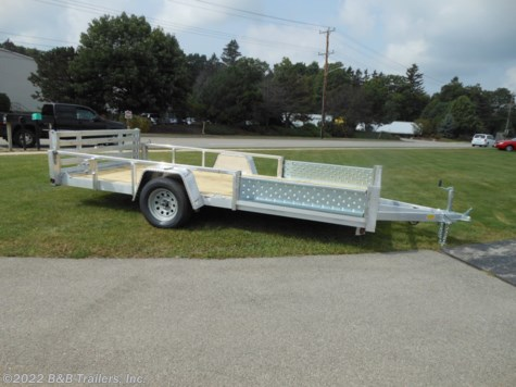 New 2019 Quality Steel & Aluminum 8014ALDX For Sale by B&B Trailers, Inc. available in Hartford, Wisconsin