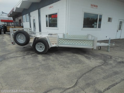 Used 2019 Quality Aluminum Rental 8012ALDX For Sale by B&B Trailers, Inc. available in Hartford, Wisconsin