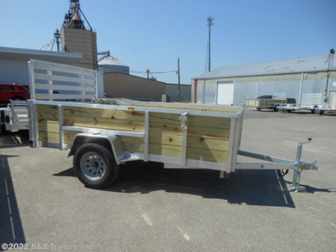 New 2020 Quality Aluminum 7410ALSL For Sale by B&B Trailers, Inc. available in Hartford, Wisconsin