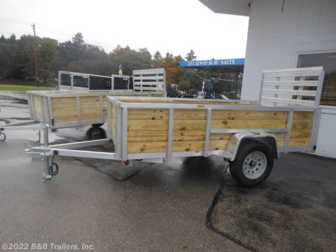 New 2019 Quality Aluminum 6210ALSL For Sale by B&B Trailers, Inc. available in Hartford, Wisconsin