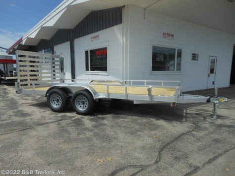 New 2020 Quality Aluminum 8216ALSL For Sale by B&B Trailers, Inc. available in Hartford, Wisconsin