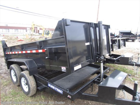 "New 2017 Sure-Trac 82""X12' LOW PRO DUMP TELESCOPIC For Sale by Chuck's Custom Truck and Trailer available in Medina , Ohio"