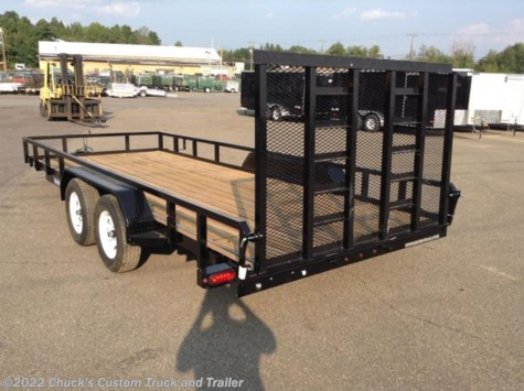 2018 Sure-Trac  7'x18' TUBE TOP 7k W/ REINFORCED GATE