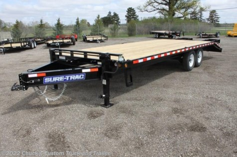 2017 Sure-Trac  8.5'x20'+5' LOW PRO BEAVERTAIL DECKOVER