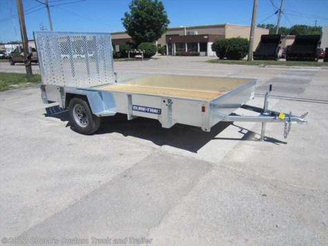 2017 Sure-Trac  7'x12' galvanized high side