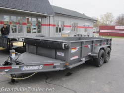 2016 Diamond C  24LPD Dump Trailer 7x14 14K