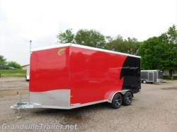 2016 Neo Trailers  NAMR167TR80 All Aluminum Cargo Trailer w/Ramp Door