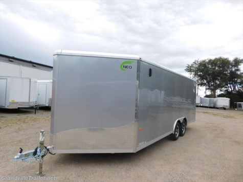 2017 Neo Trailers  Round Top Beaver Tail Auto Trailer NCB2085TR6