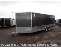 #156066 - 2017 Aluma 8.5x20 Aluminum Enclosed 7' Interior Car Hauler -