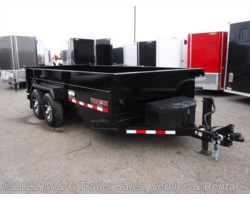 #000642 - 2017 Midsota 16' Dump Trailer - Black