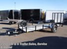 2017 H&H Trailers H&H 5.5x12 Rail Side Utility - Black Ramsey, Minnesota