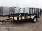 2017 H&H Trailers H&H 8.5x12 Rail Side ATV/Utility Trailer - Black Ramsey, Minnesota