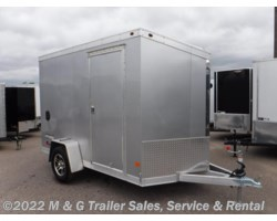 #338002 - 2017 Haulmark ALX 6x10SA Aluminum Enclosed Cargo Trailer - Silver