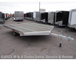 #161900 - 2018 Aluma 8612D Aluminum Snowmobile Trailer