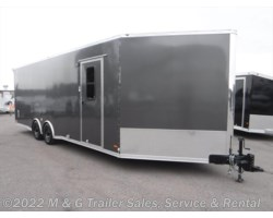 #634510 - 2017 RC Trailers RSCT Series 8.5X30 Enclosed 7' Int. 10k Combo Hauler - Charcoa