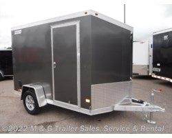 #352377 - 2017 Haulmark ALX 6x10SA Aluminum Enclosed Cargo Trailer - Charcoal