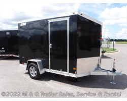 #352373 - 2017 Haulmark ALX 6x10SA Aluminum Enclosed Cargo Trailer - Black
