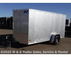 "#349236 - 2017 Haulmark Thrifty 6x12 Enclosed 6'6"" Int Cargo - Silver"