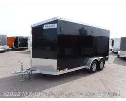 #352645 - 2017 Haulmark ALX 7x16TA Aluminum Enclosed 7' Int Cargo - Black