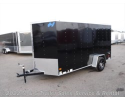 #345918 - 2017 Haulmark Thrifty 6x12 Enclosed Cargo - Black