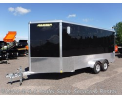 #168534 - 2018 Aluma 7x16TA Enclosed 7' Int. Cargo with Sport Pkg - Bla