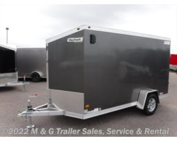 #352391 - 2017 Haulmark ALX 6x12SA Aluminum Enclosed Cargo Trailer - Charcoal