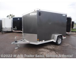 #352376 - 2017 Haulmark ALX 6x10SA Aluminum Enclosed Cargo Trailer - Charcoal