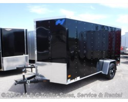 #345940 - 2017 Haulmark Thrifty 6x12 Enclosed Cargo - Black