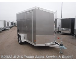 #352383 - 2017 Haulmark ALX 6x10SA Aluminum Enclosed Cargo Trailer - Pewter