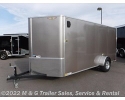 #264223 - 2017 H&H  6x14SA Enclosed Cargo - Pewter