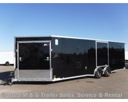 #637115 - 2017 RC Trailers 8.5X30 Enclosed 7' Int. 10k Aluminum Combo Hauler